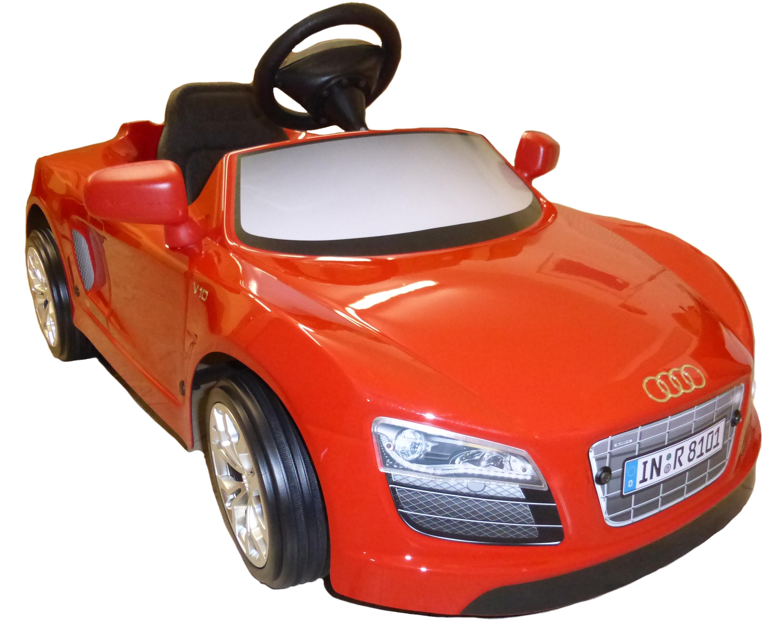 Kinder Elektroauto Toys Toys AUDI R8 Spyder rot Kinderautohaus