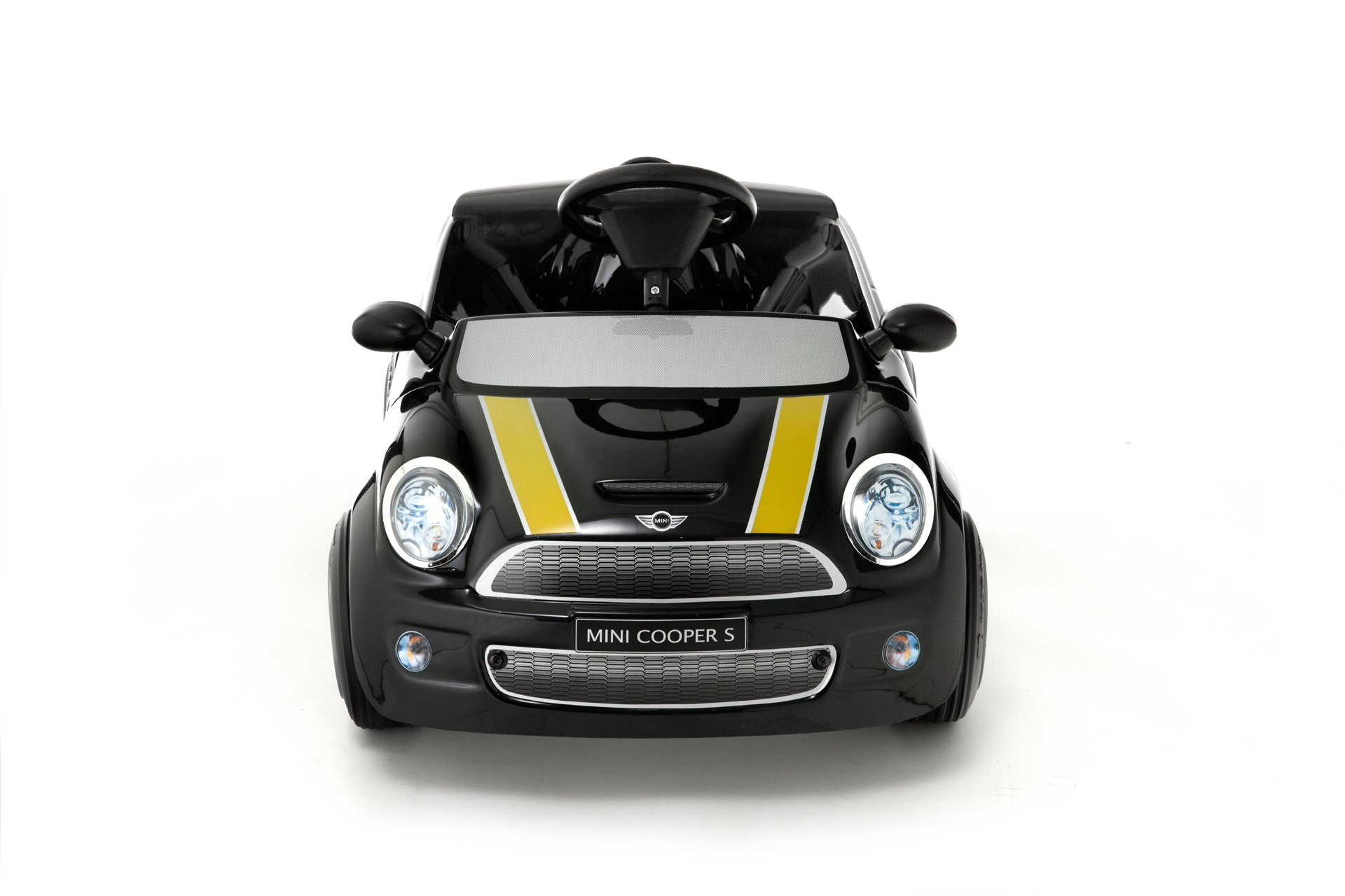 kinder elektroauto toys toys mini cooper s black edition. Black Bedroom Furniture Sets. Home Design Ideas