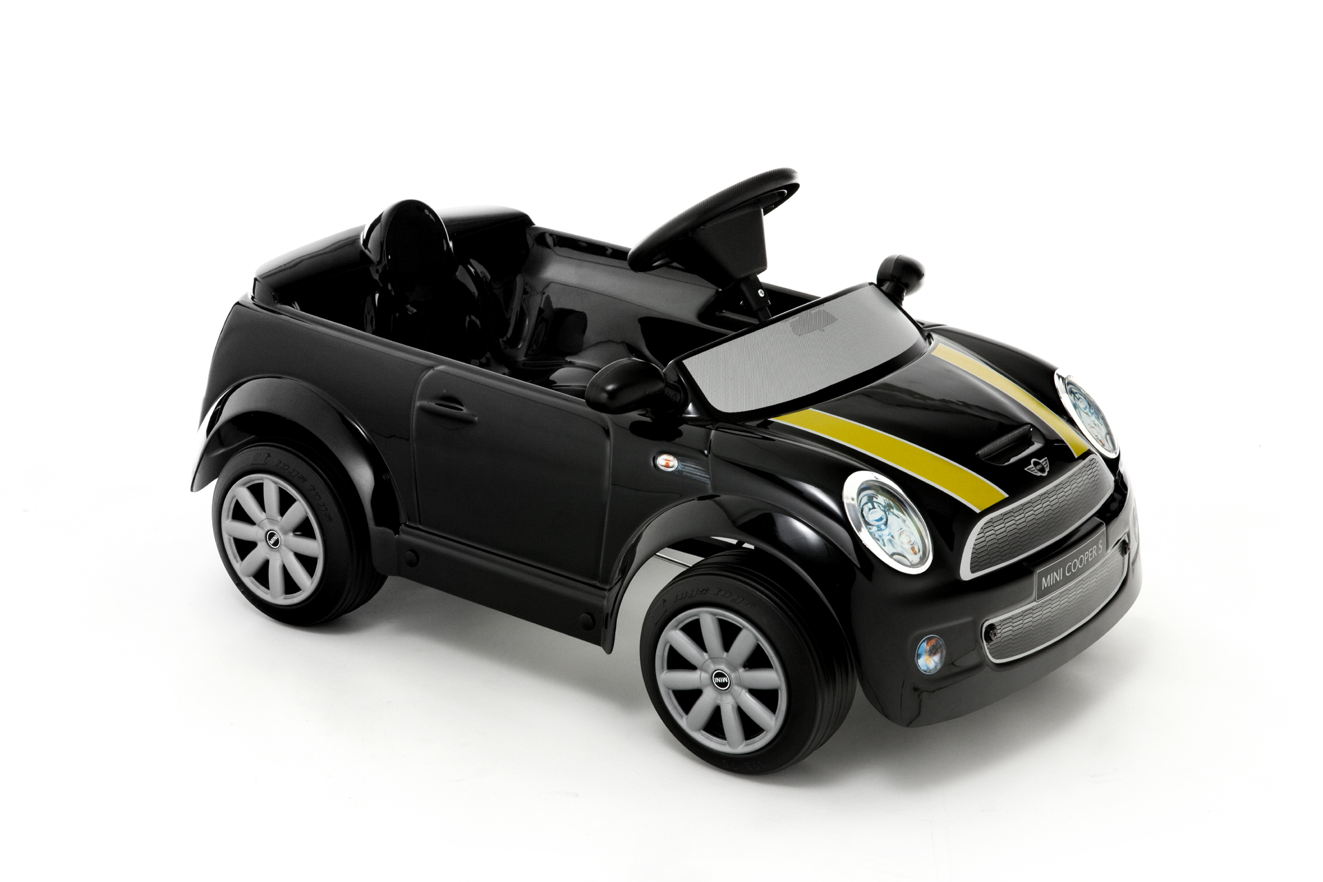 kinder elektroauto toys toys mini cooper s black edition kinderautohaus. Black Bedroom Furniture Sets. Home Design Ideas