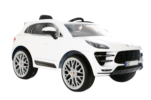 kinder elektroauto rollplay porsche macan turbo 6 v suv. Black Bedroom Furniture Sets. Home Design Ideas